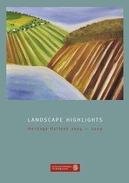 Download Landscape Highlights: Heritage Outlook 2004 - 2009