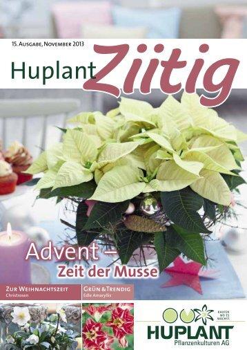 komplette Ausgabe - Huplant Pflanzenkulturen AG