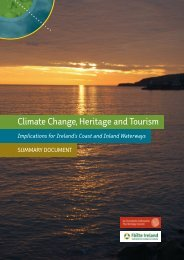 Download Climate Change, Heritage & Tourism Summary