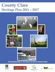 County Clare Heritage Plan 2011 – 2017 - The Heritage Council