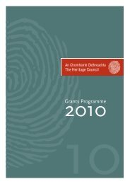 to download an ENGLISH LANGUAGE PDF - The Heritage Council