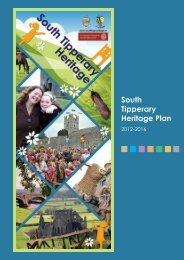 South Tipperary Heritage Plan 2012-2016 - The Heritage Council