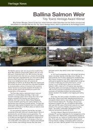 Ballina Salmon Weir - The Heritage Council