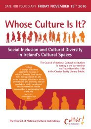 Whose Culture Is It? - Arts Management Ireland