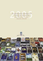 Annual Report 2005 - The Heritage Council