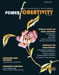 Power of creativity for sustainable development ... - unesdoc - Unesco
