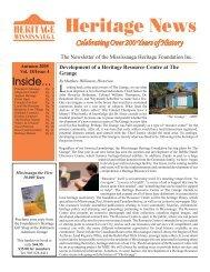 Volume 18, Issue 4 - Heritage News Autumn 2005