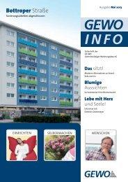 Herunterladen - GE-WO Gemeinnütziger Wohnungsbau eG