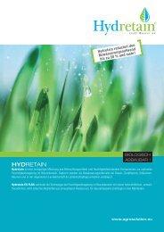 HYDRETAIN Info Brochure Deutsch - AGROsolution