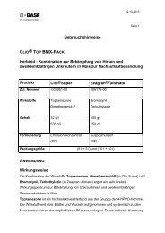 CLIO® TOP BMX-PACK - BASF Pflanzenschutz Deutschland