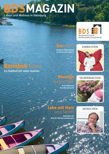 """PDF 4,0 MB, """"BDS-Magazin - Leben und wohnen in Hamburg"""""""