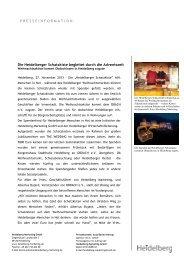 Pressemitteilung als PDF - Heidelberg Marketing GmbH