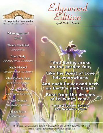 April 2013 (PDF) - Heritage Senior Communities