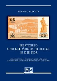 Ersatzgeld der DDR – Katalogteil - Gietl Verlag