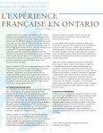 Comprendre l'expérience française en Ontario - Fiducie du ... - Page 7