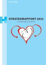 STRATEGIRAPPORT 2011 - Herlev Hospital