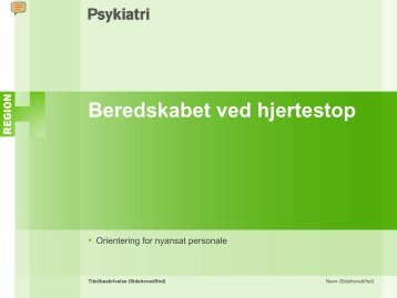 Beredskabet ved hjertestop - Herlev Hospital