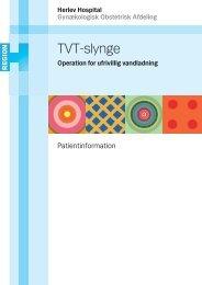 TVT-slynge - Herlev Hospital