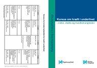 Kursus om kræft i underlivet - viden støtte og ... - Herlev Hospital