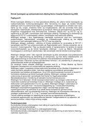 Klinisk fysiologisk og nuklearmedicinsk afdeling Herlev Hospital ...