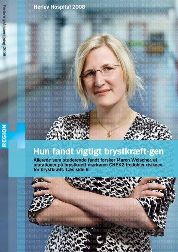 Forskningsberetning 2008 - Herlev Hospital