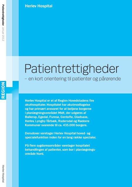 Patientrettigheder En Kort Orientering Til Patienter