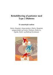 Rehabilitering af patienter med Type 2 Diabetes - Herlev Hospital