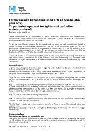 Forebyggende behandling med 5FU og Oxaliplatin ... - Herlev Hospital