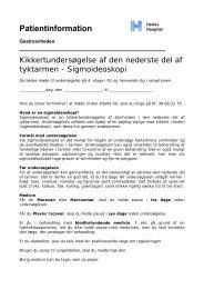 Patientinformation - Herlev Hospital