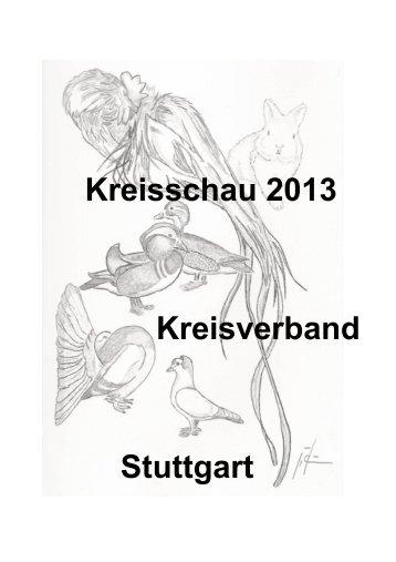Katalog KV Schau 2013 - Kleintierzuchtverein Neuwirtshaus