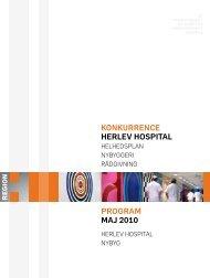 Konkurrenceprogrammet. - Herlev Hospital