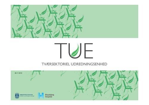 TUE- tværsektoriel udredningsenhed - Herlev Hospital