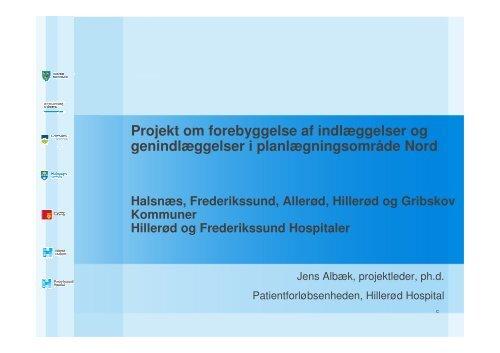 Forebyggelse af Indlæggelse - Herlev Hospital