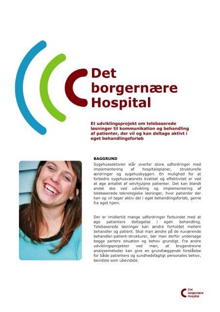 Læs om projektet(åbner pdf-fil) - Herlev Hospital
