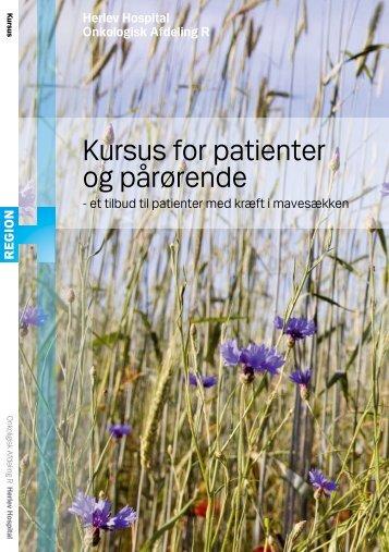 Kursus for patienter og pårørende - Herlev Hospital