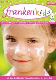 Ausgabe JUN/JUL 2013 - Familienmagazin frankenkids