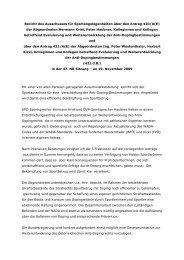 Bericht des Ausschusses für Sportangelegenheiten ... - Hermann Krist