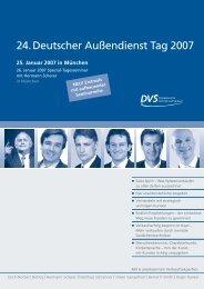 24. Deutscher Außendienst Tag 2007 - Hermann Scherer