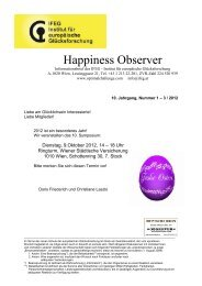Happiness Observer - Hermann Scherer