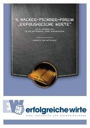 HACKER_FORUM-Broschuere - Hermann Scherer