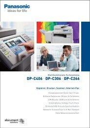 DP-C406 • DP-C306 • DP-C266