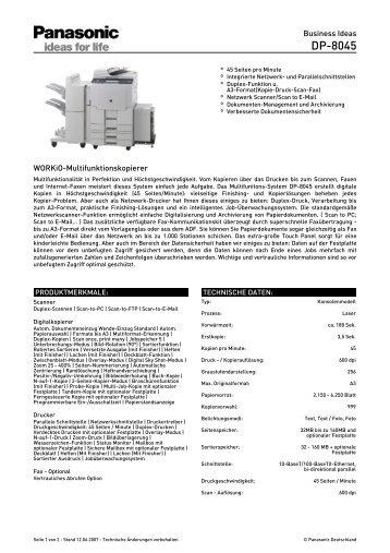 produktmerkmale fax opti. Black Bedroom Furniture Sets. Home Design Ideas