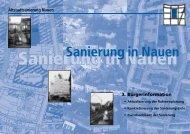 Sanierung in Nauen - Stadtkontor