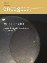 Watt d'Or 2013
