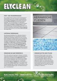 KERAMISCHE FLIESEN - ELYSEE GmbH