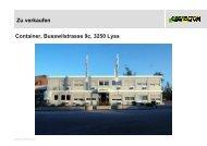 Kurzbeschrieb Büro- und Sanitärcontainer 36 Stück 20' Container