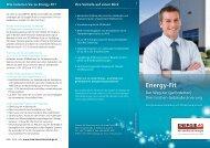 Folder Energy-Fit - Energie AG Oberösterreich