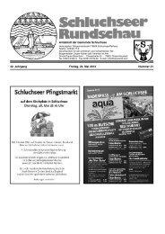 Rundschau Nr. 21.pdf - Gemeinde Schluchsee