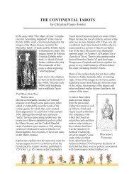The Continental Tarot