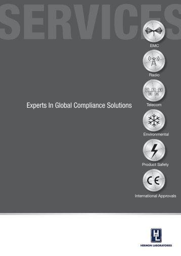 Services Brochure - Hermon Labs